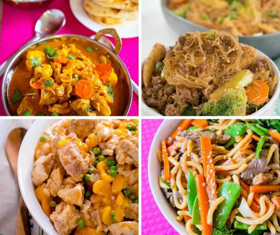 Over 100 fantastic foods for toddlers! Yummy, freezer friendly and kid approved recipes to keep your toddler interested in food! The best toddler food list on the web! #toddlerfood #kidsfood #easyrecipes #familyfood