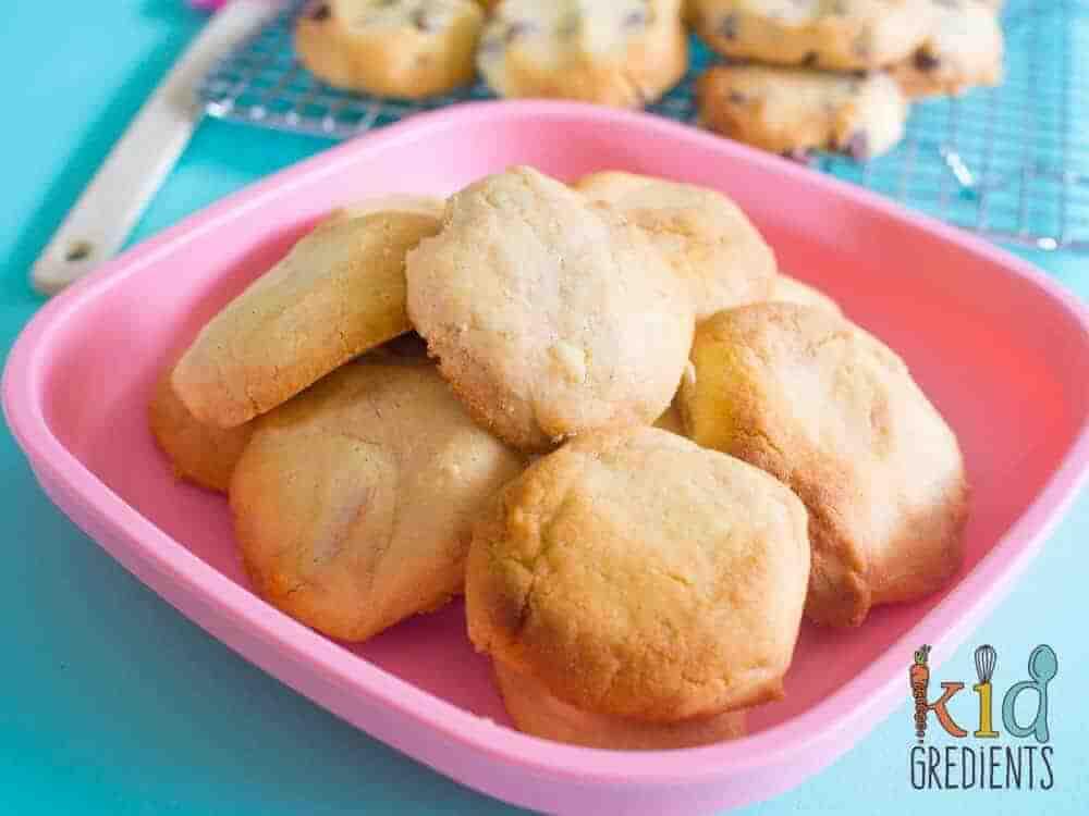 basic low sugar cookie dough