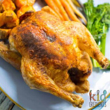 Ever wondered how to do the perfect roast chicken?  Well wonder no more, this foolproof method will leave you with juicy breast meat and perfectly cooked thighs with a delicious crispy skin!