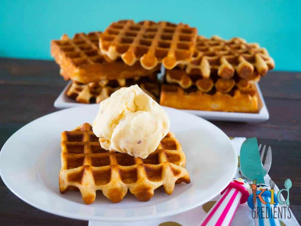 best ever healthier waffles!
