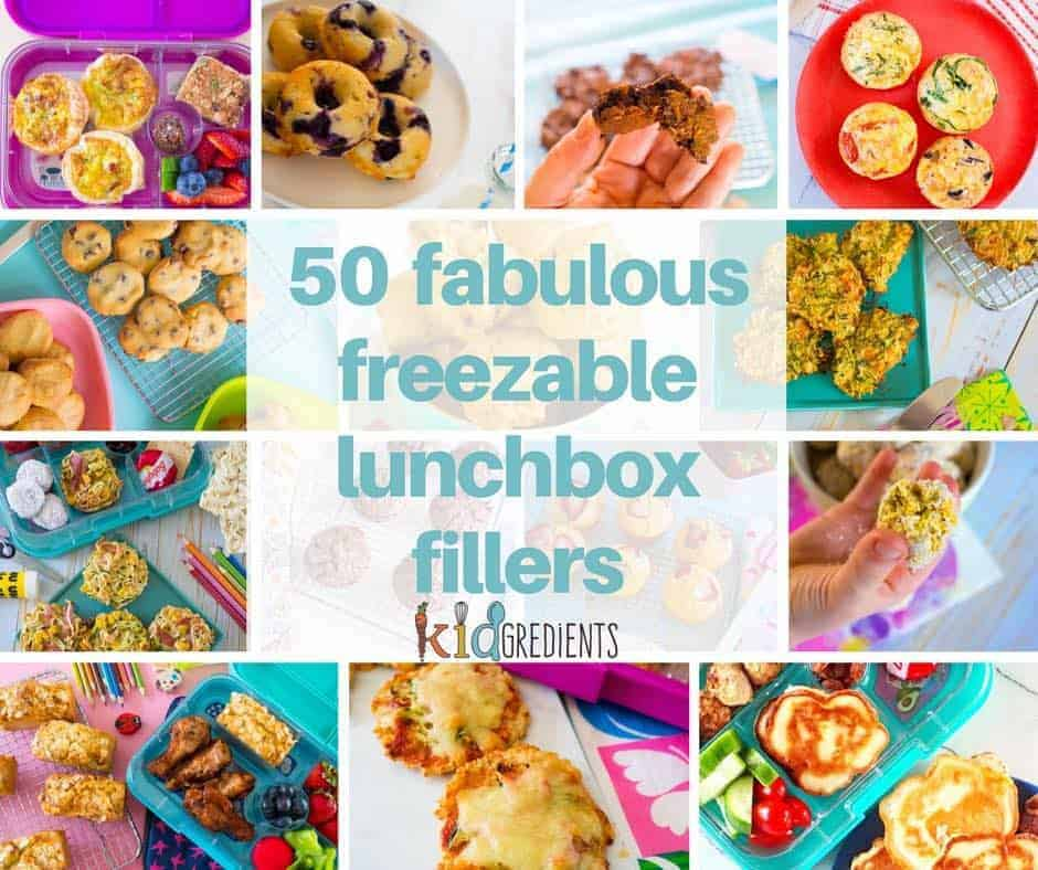 so fabulous freezable lunchbox fillers