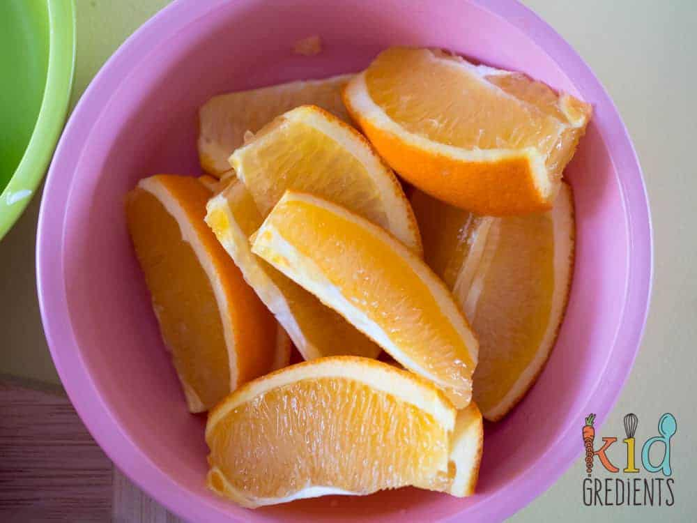 healthy bento lunchbox oranges