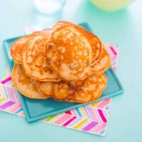 Sultana pikelets, no added sugar!