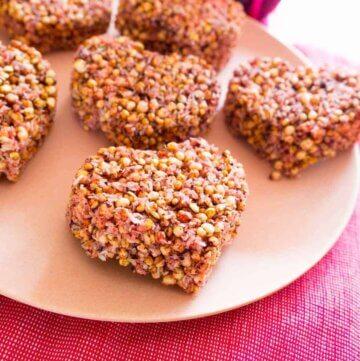 quinoa puff bites