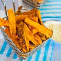 Best ever sweet potato fries