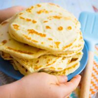 super easy 3 ingredient flatbreads