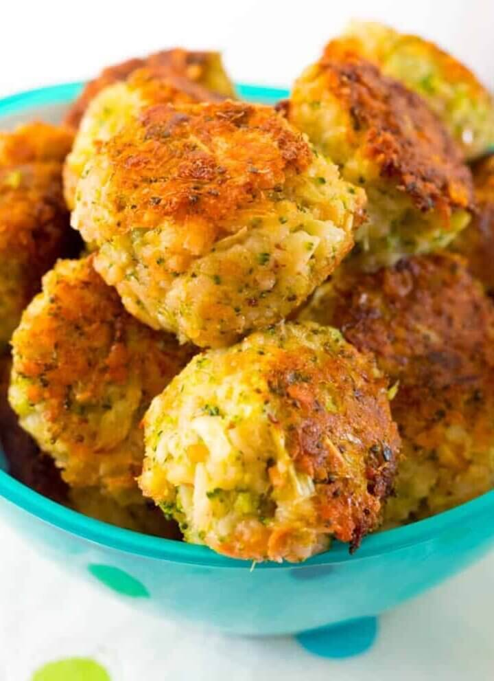 cheesy broccoli bites - healthy mummy review