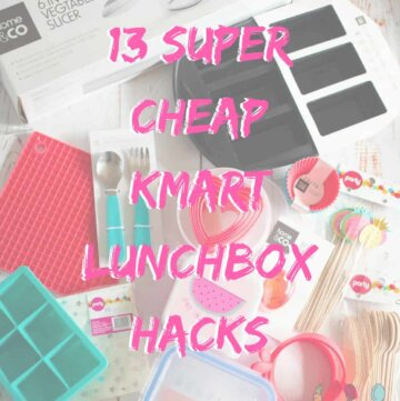 13 super cheap Kmart lunchbox hacks