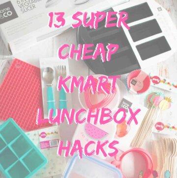 13 super cheap Kmart lunchbox hacks