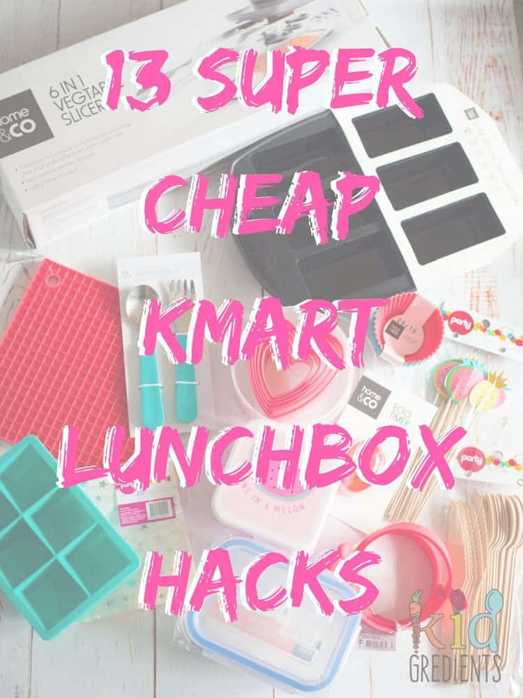 super cheap Kmart lunchbox hacks