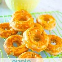 apple cinnamon baked donuts