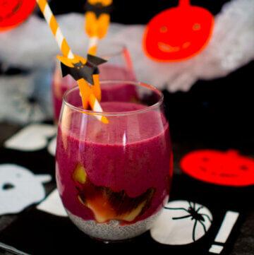 Witches brew breakfast smoothie