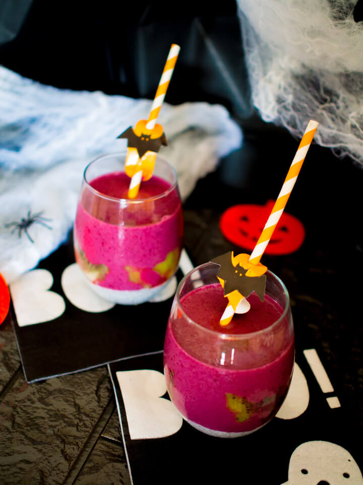 witches brew breakfast smoothi