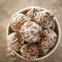 Cherry ripe bliss ball bombs