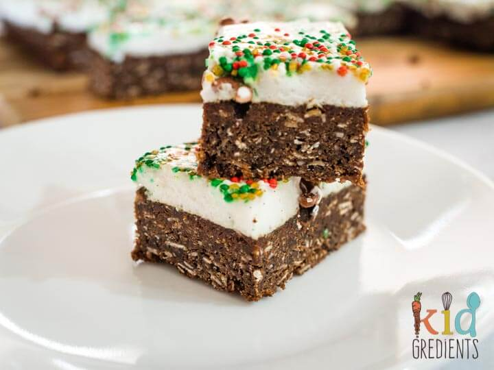 christmas marshmallow slice