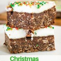 christmas marshmallow slice