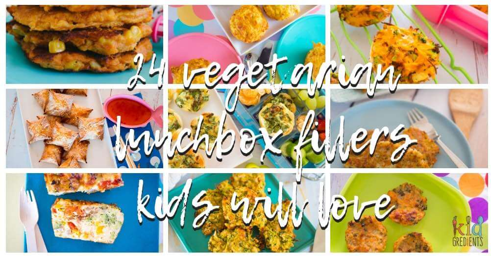 24 vegetarian lunchbox fillers your kids will love