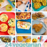 24 vegetarian lunchbox fillers kids will love