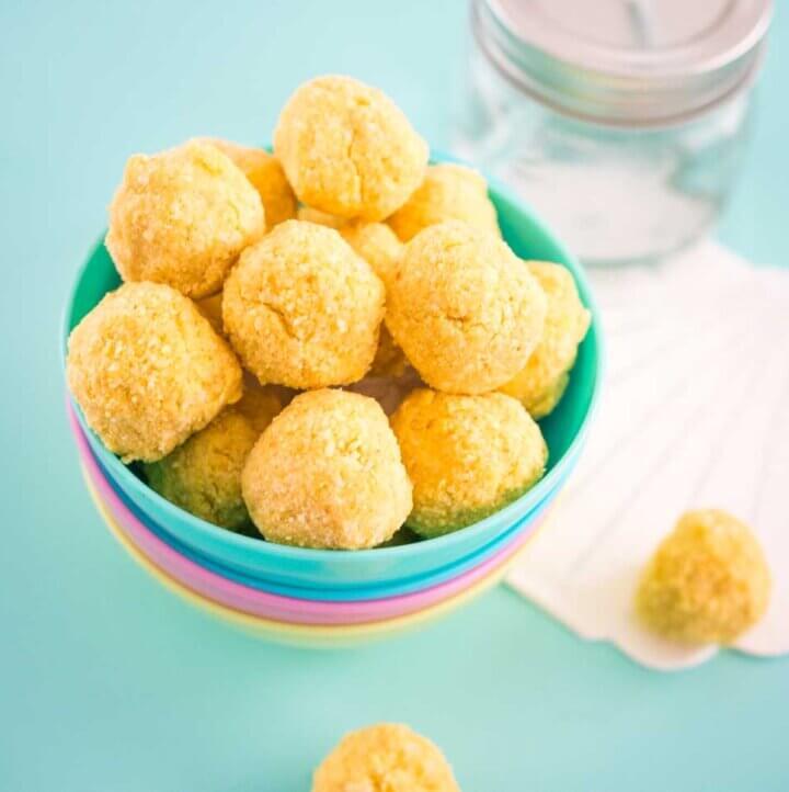 passionfruit bliss balls
