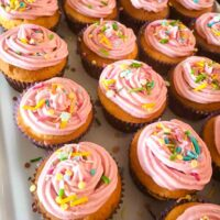 best ever vanilla bake sale cupcakes