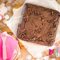 gluten and dairy free chocolate brownies