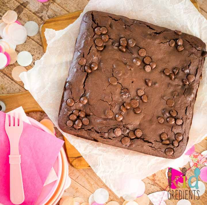 Gluten and dairy free chocolate brownies MAGIMIX CE