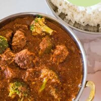 Beef Mince Curry Meatballs